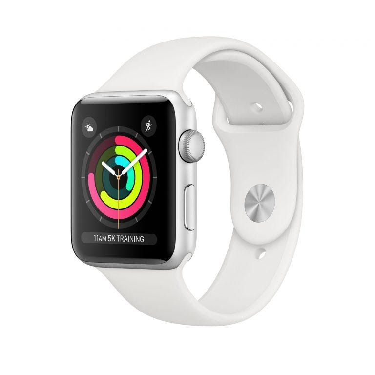 Đồng hồ thể thao Apple Watch Series 3 GPS Aluminum Case With Sport Band