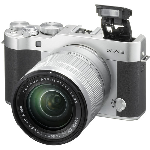 Fujifilm X-A3 + 16-50mm