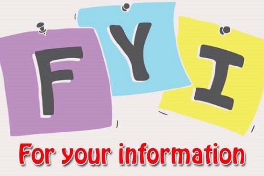 FYI là gì? FIY thường được sử dụng trong những hoàn cảnh nào?