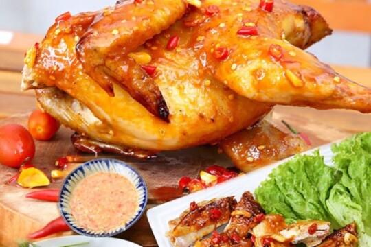 Cùng bạn làm gà nướng muối ớt thơm ngon và đậm đà ngay tại nhà