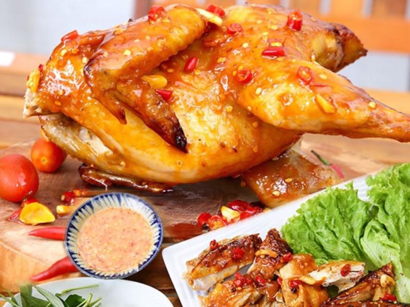gà nướng muối ớt 1