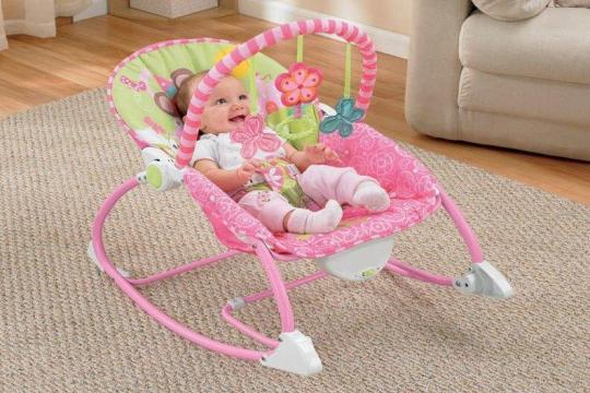 Review top 5 ghế rung cho bé êm ái, an toàn được các bố mẹ tin dùng