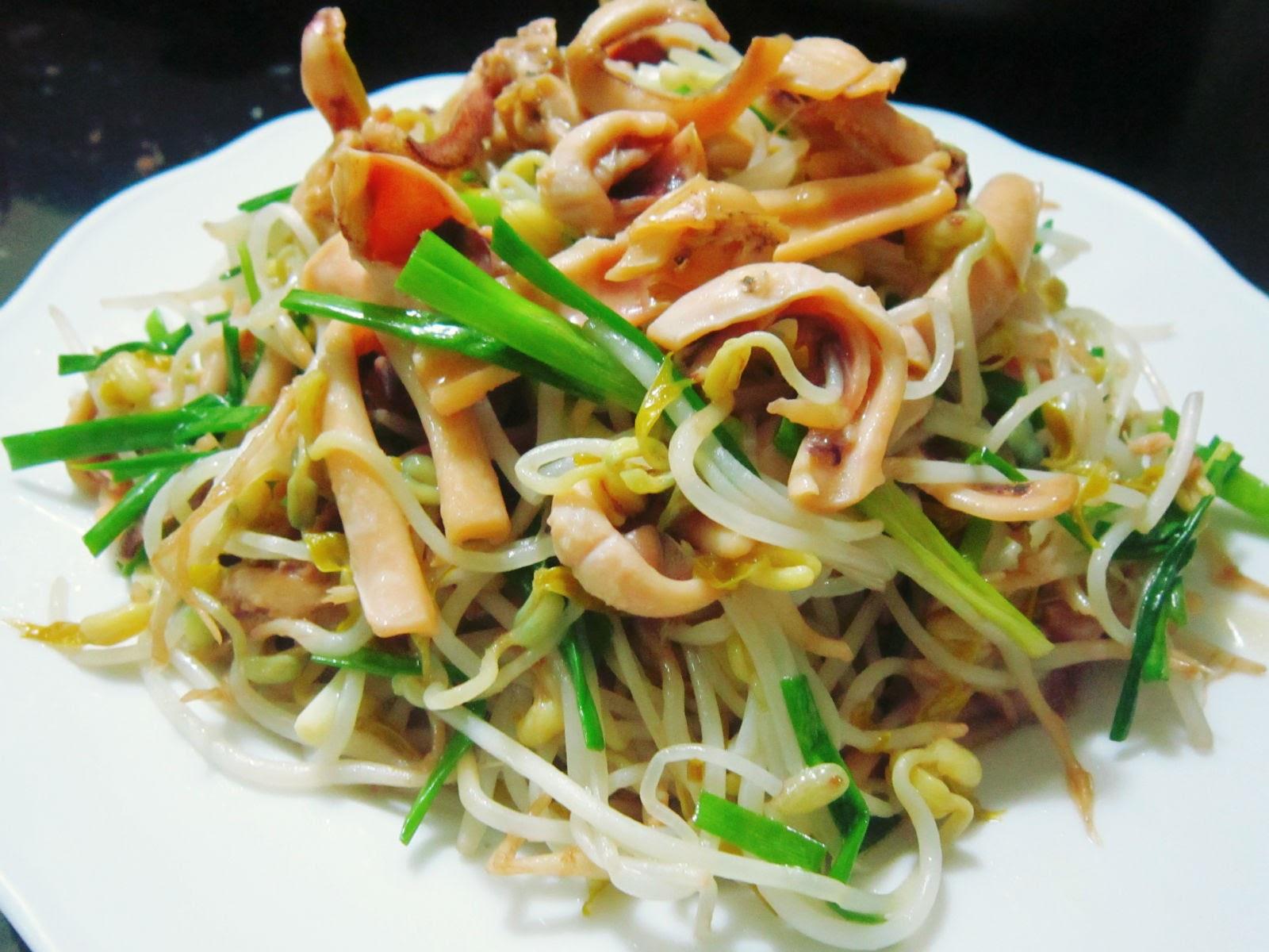 Giá đỗ- món ăn yêu thích của các gia đình Việt