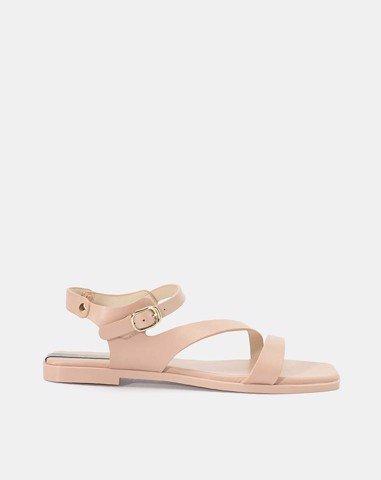 Giày sandal nữ quai đinh tán Juno SD 0171