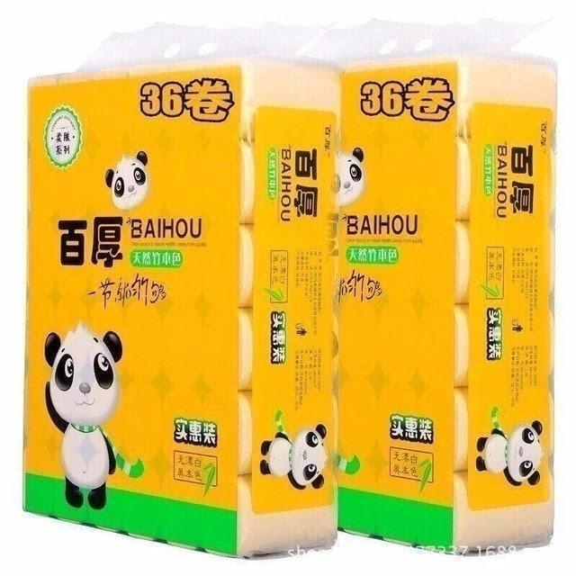Giấy vệ sinh Gấu Trúc Baihou