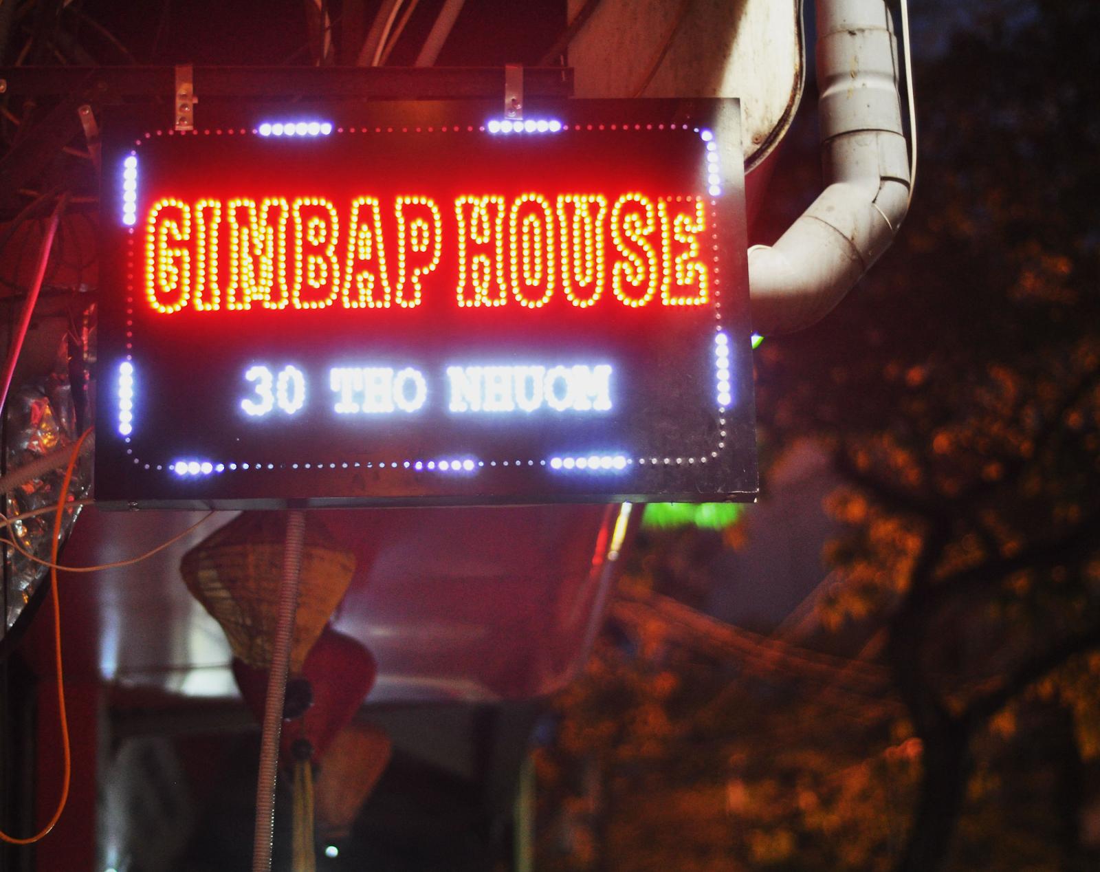 Gimbap House