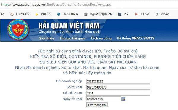 He-thong-website-cua-cuc-hai-quan-Viet-Nam