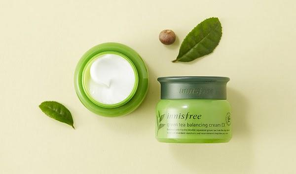 Innisfree Green Tea Balancing Cream EX