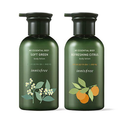Innisfree-My-Essential-Body-Soft-Green-Body-Lotion