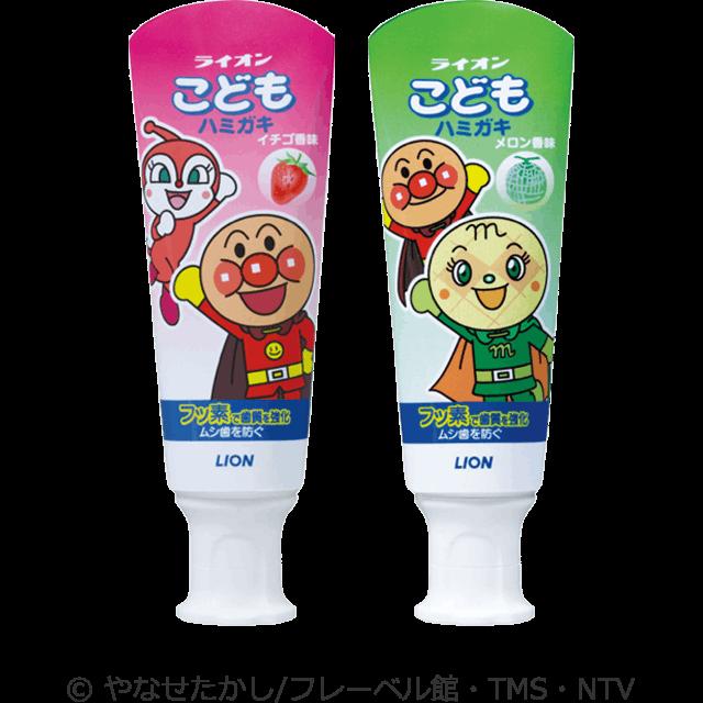 Kem đánh răng ngừa sâu răng Kodomo Hamigaki Melon