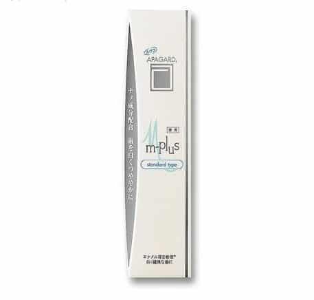Kem đánh răng thơm miệng Apagard màu trắng