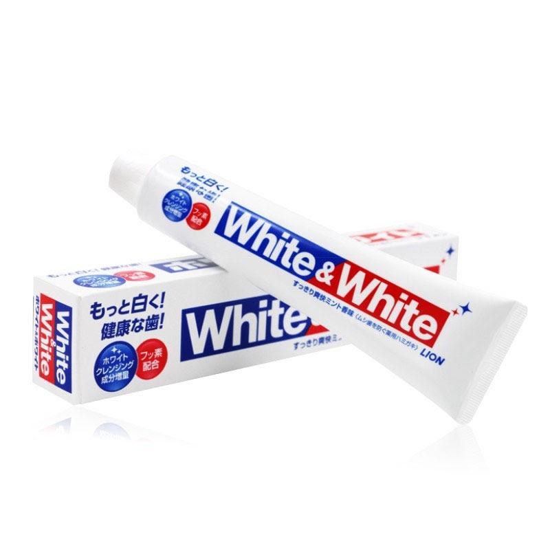 Kem đánh răng trắng sáng White and White Lion