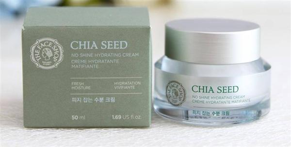 Kem - duong - da - The Face Shop Chia Seed No Shine Hydrating Cream