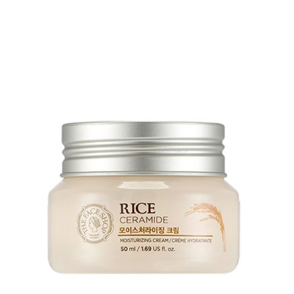 Kem - duong - da - The Face Shop Rice & Ceramide Moisture Cream