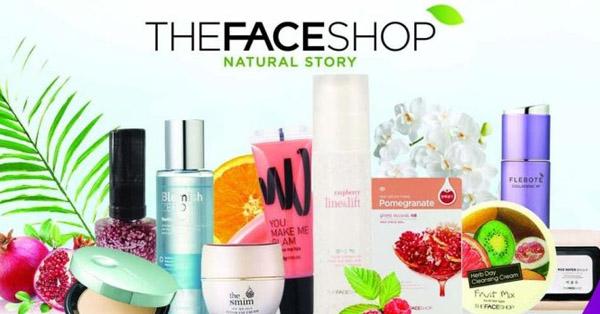 Kem dưỡng da The Face Shop sản phẩm yêu thích đến từ thiên nhiên