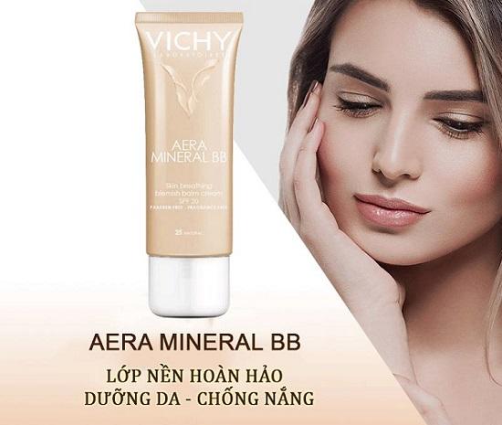 Kem lót trang điểm Vichy Aera Mineral BB