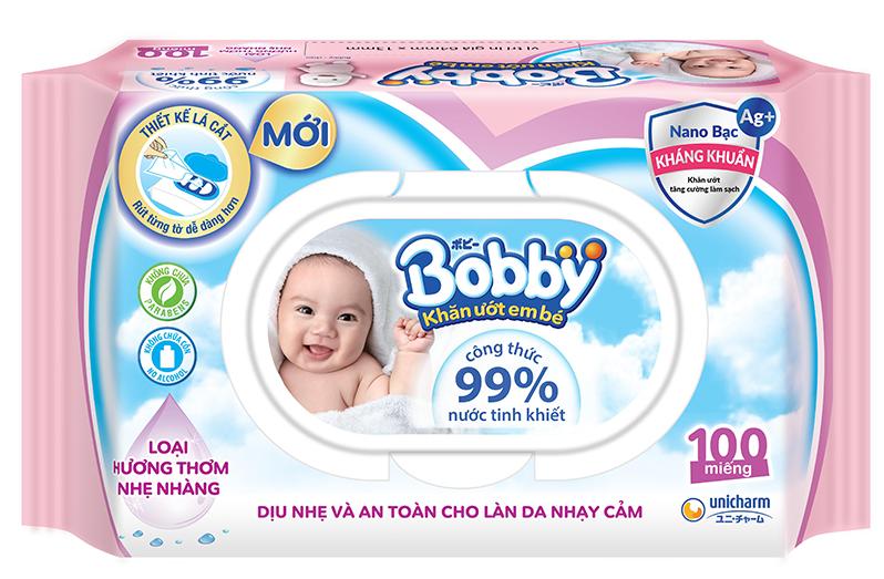 Khăn ướt Bobby