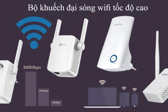 Review top 5 sản phẩm kích sóng wifi giúp tăng tốc độ mang một cách vượt trội