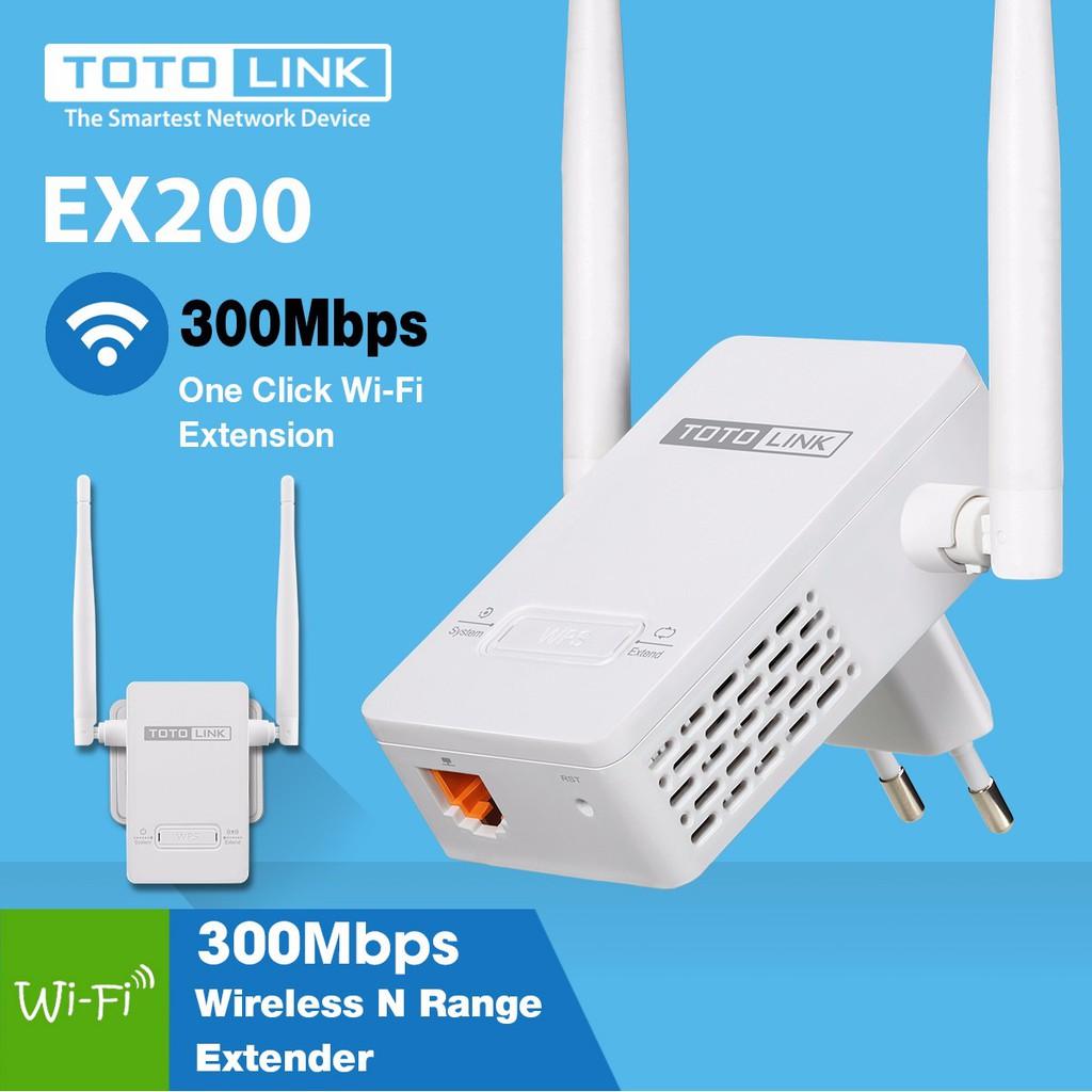 Kích sóng wifi Totolink EX200 2 Râu