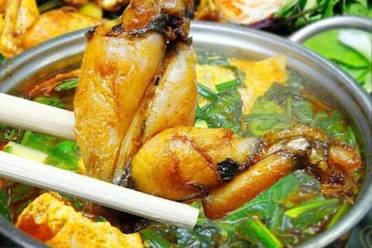 Review top 5 quán lẩu ếch Hà Nội rẻ và thịt ếch thơm ngon