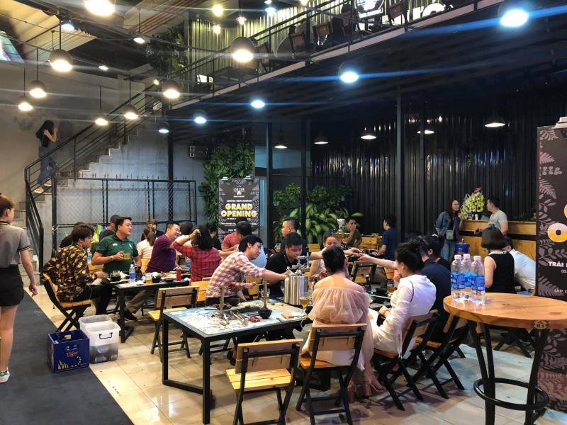 Lokcok beer garden