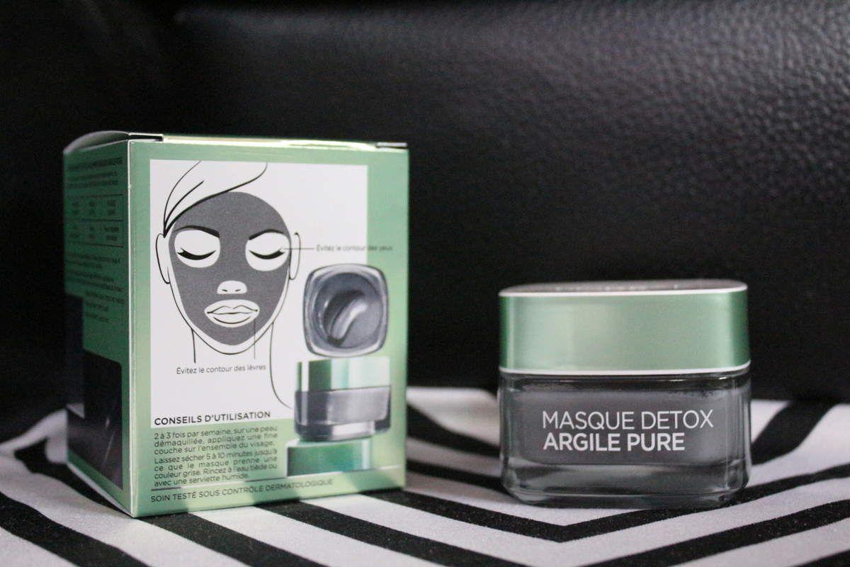 L'Oreal Masque Detox Argile Pure
