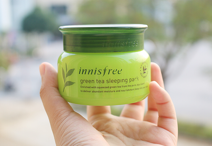 Mặt nạ ban đêm Innisfree Green Tea Sleeping Mask