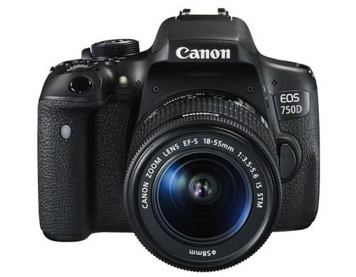 Máy ảnh DSLR Canon 750D 18-55 IS STM