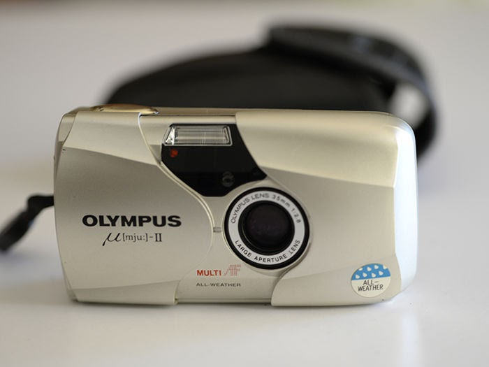 Máy ảnh du lịch Olympus MJU II