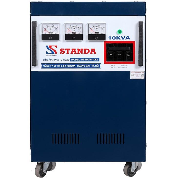 Máy biến áp tự ngẫu Standa TBD 10kVA 3 pha