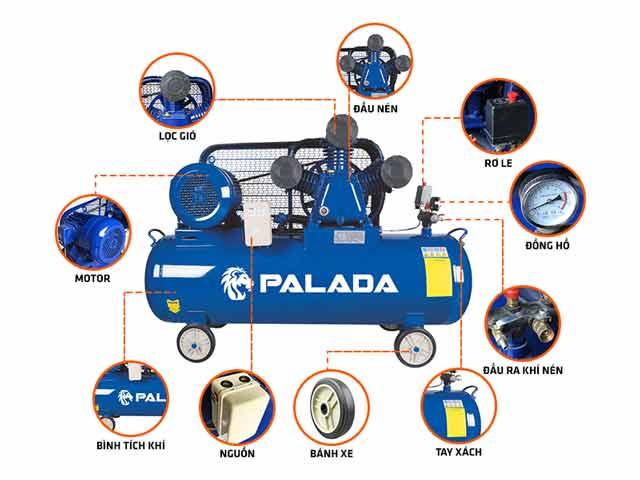 Máy bơm hơi 10kg Palada PA-10300