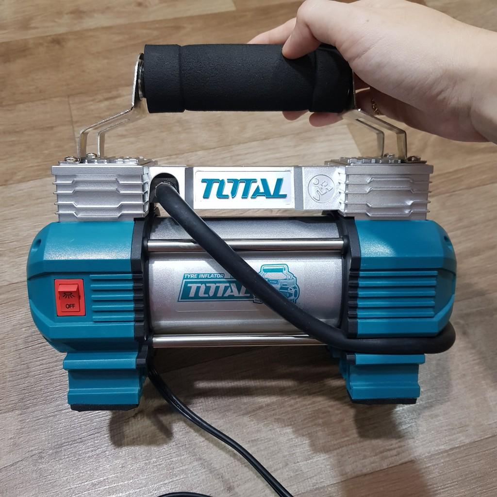 Máy bơm hơi mini Total TTAC2506T - 12V