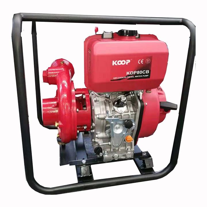 Máy bơm nước chạy dầu Koop cao áp KDP80CB
