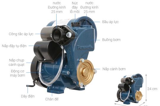 Review top 5 máy bơm tăng áp điện tử có độ bền cao