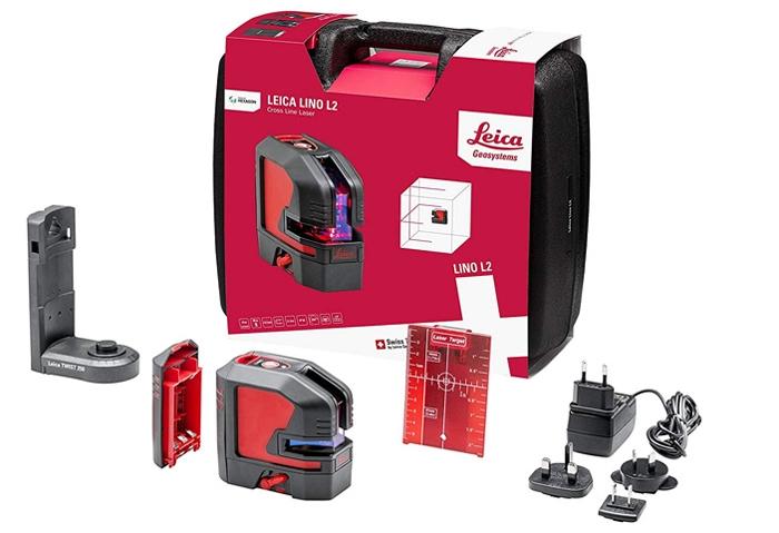 Máy cân mực laser Leica Lino L2P5G