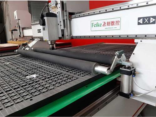 Máy CNC hút chân không 1 đầu Feike có bộ tỳ phôi - FEIKE 1325-1D-TP-1