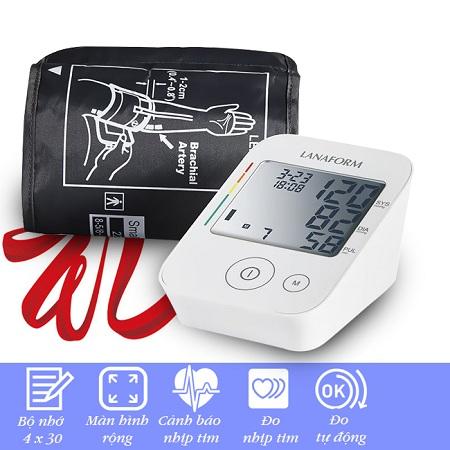 Máy đo huyết áp Lanaform ABPM-100 (Vòng Bít 22-30 cm)