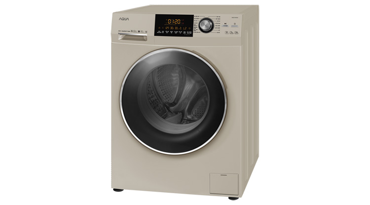 Máy giặt cửa trước Aqua AQD – D1000A