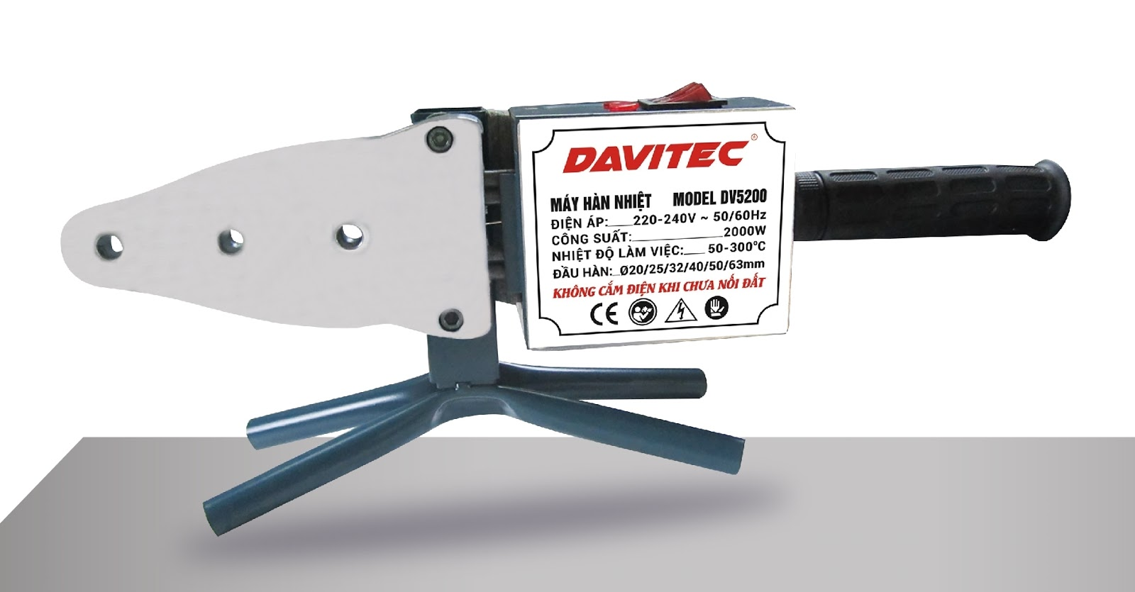 Máy hàn nhiệt Davitec DV5200