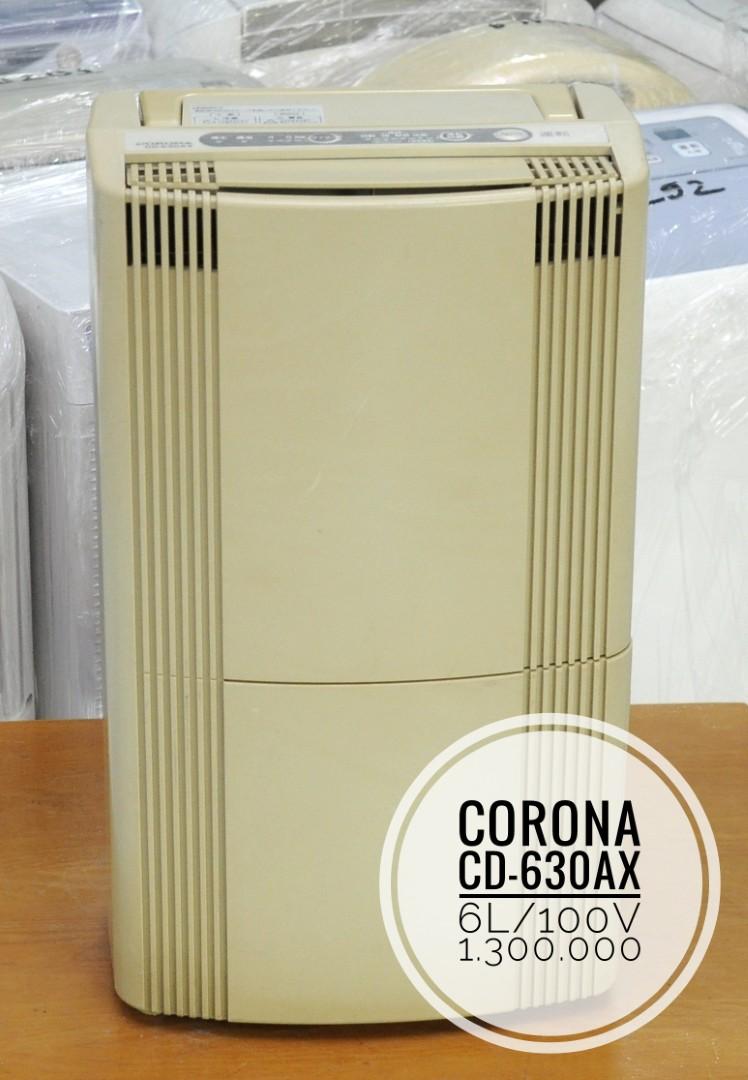 Máy hút ẩm nội địa Nhật Corona CD 630AX