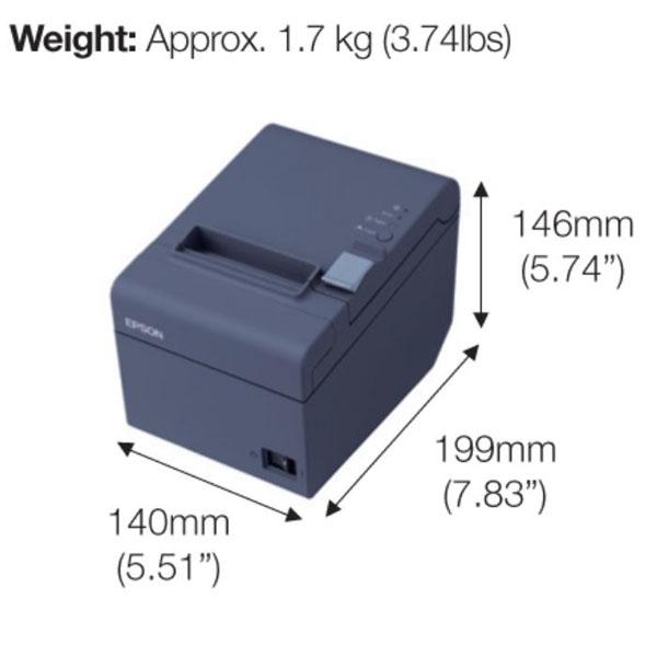 Máy in hoá đơn EPSON TM - T82 (USB + RS232)