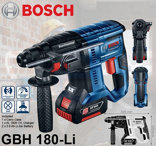 Máy khoan bê tông Bosch GBH 180-Li-1