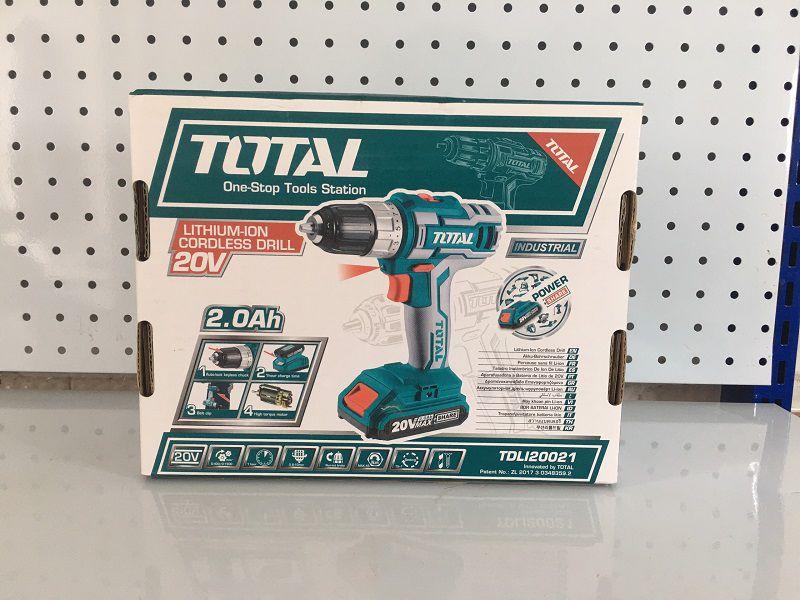 Máy khoan pin Total TDLI