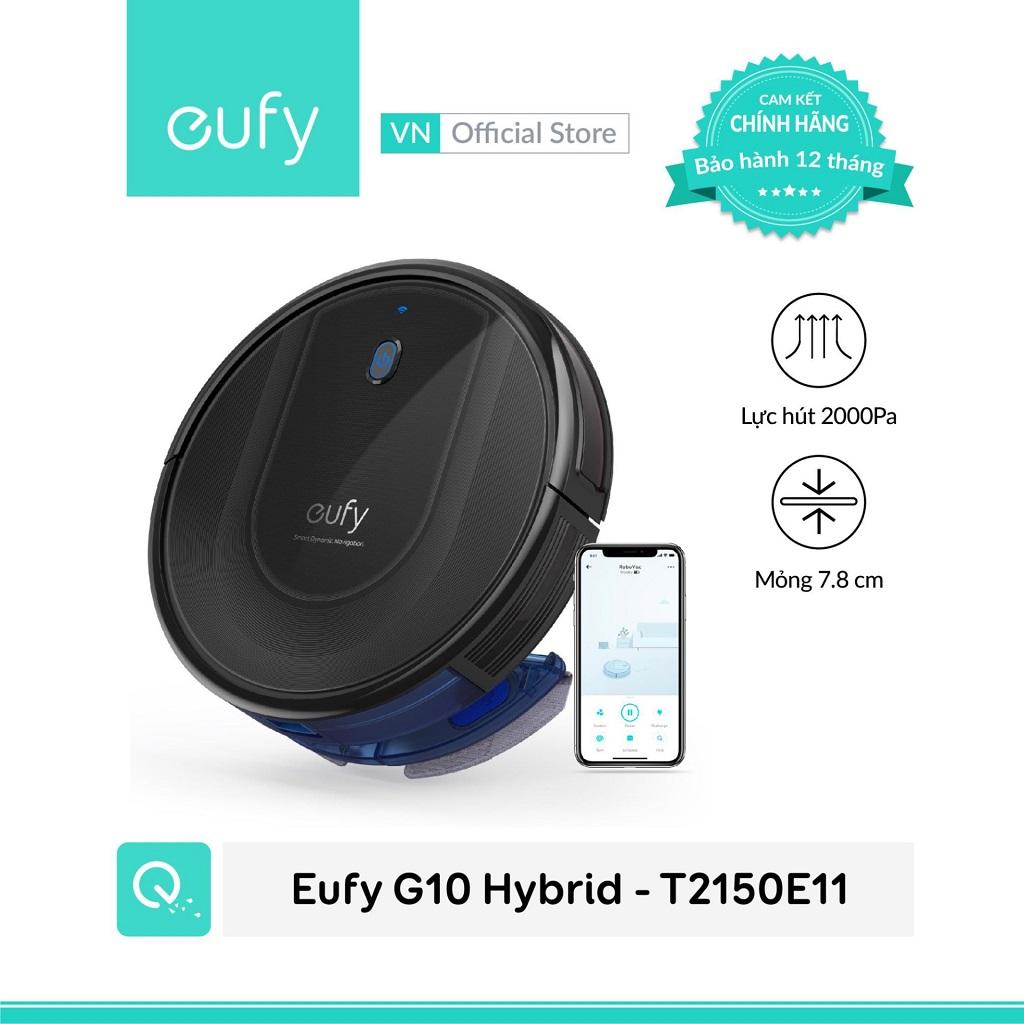 máy lau nhà gia đình Eufy G10 Hybrid