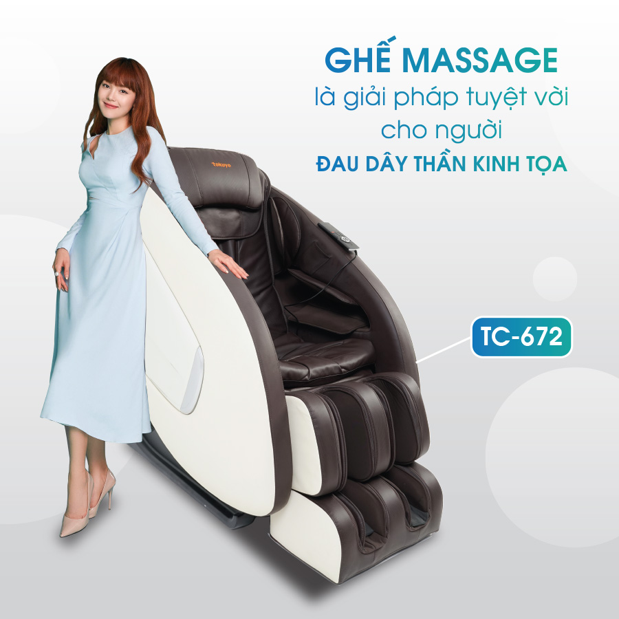 Máy massage Tokuyo TC-672