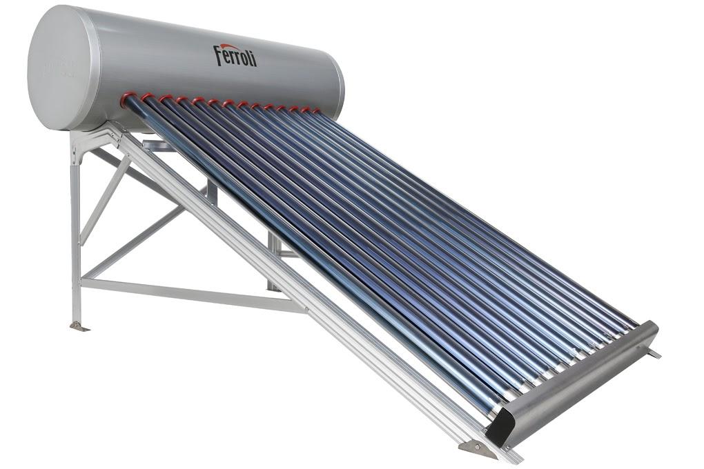 Máy nước nóng năng lượng mặt trời Ferroli Ecosun 14OCK 180 lít