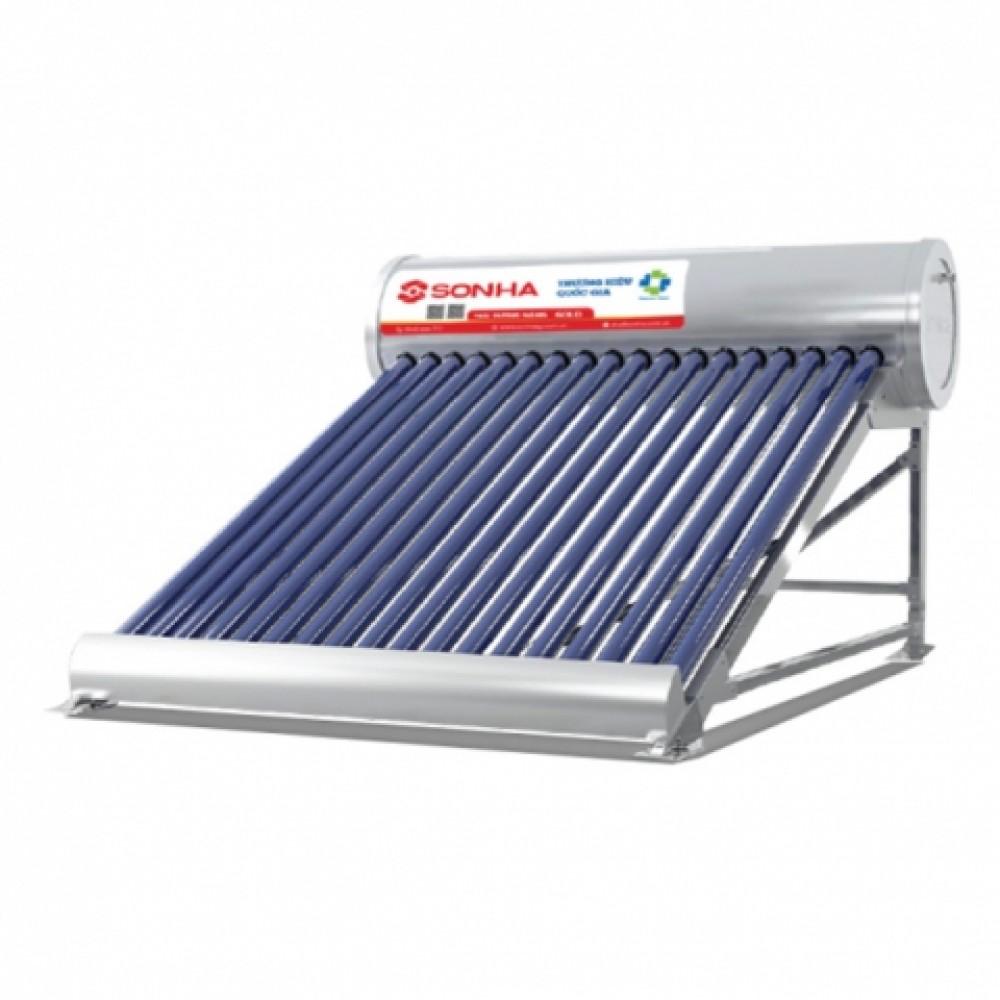 Máy nước nóng năng lượng mặt trời ống dầu2