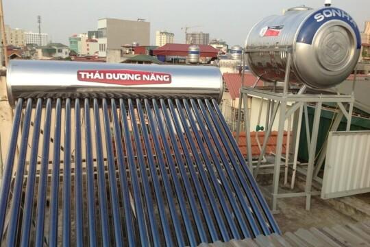 Review #5 máy nước nóng năng lượng mặt trời tốt nhất hiện nay