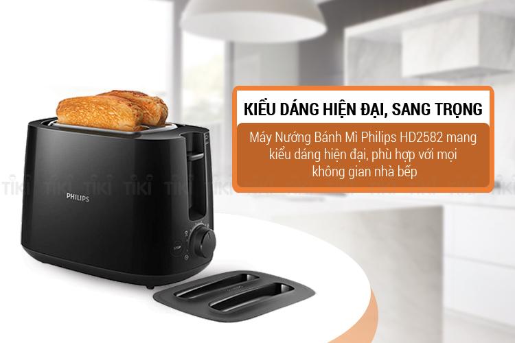 Máy nướng bánh mì Philips Sandwith HD2582