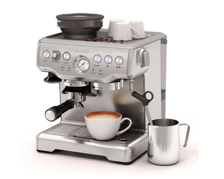 Máy pha cà phê tự động Breville 870 220V